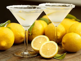 Lemon Drop Cocktail Recipe: 1-1/2 ounces citrus vodka 1 teaspoon super-fine sugar