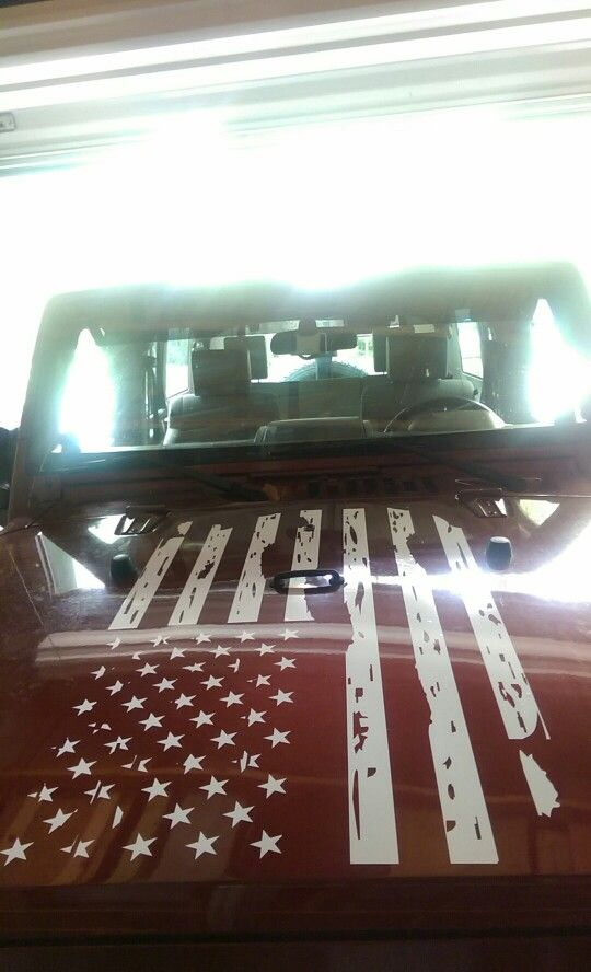 17 Best Ideas About American Flag Decal On Pinterest