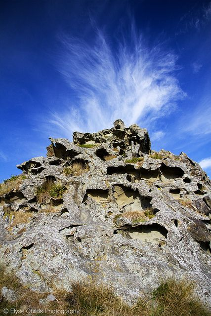 Honeycomb Rock cloud volcano, Wairarapa | © Elyse Childs Photography