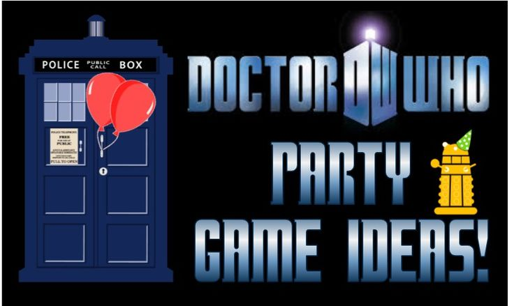 Looking for inspiration for your Doctor Who Party?  These Teen Dr. Who party game ideas will take your party to the next dimension!