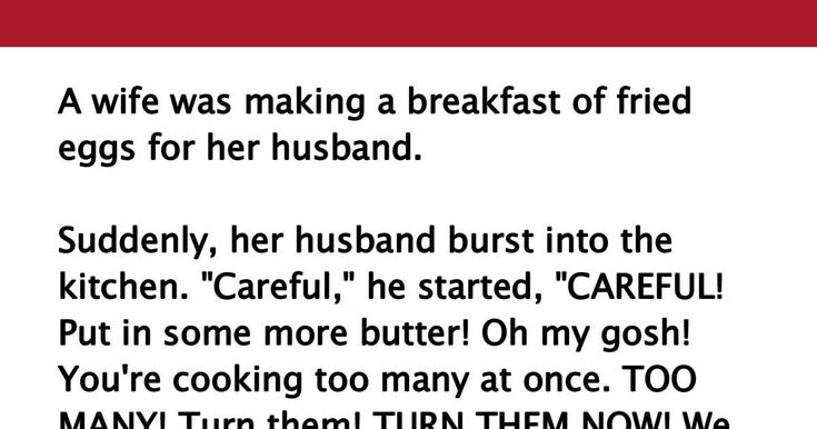 He Started Screaming At His Wife While She Was Cooking, But His Explanation Is Crazy