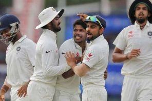 Sri Lanka Vs India , Test match cricket score, First Test Day 2: India lose Rahane in Kolkata