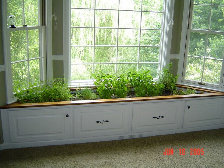 I Want This Window Herb Garden!