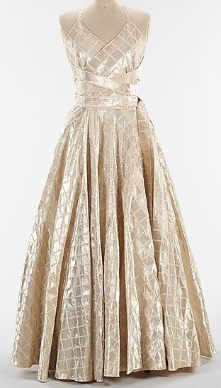 Jeanne Lanvin dress ca. 1938 via The Costume Institute of the Metropolitan Museum of Art