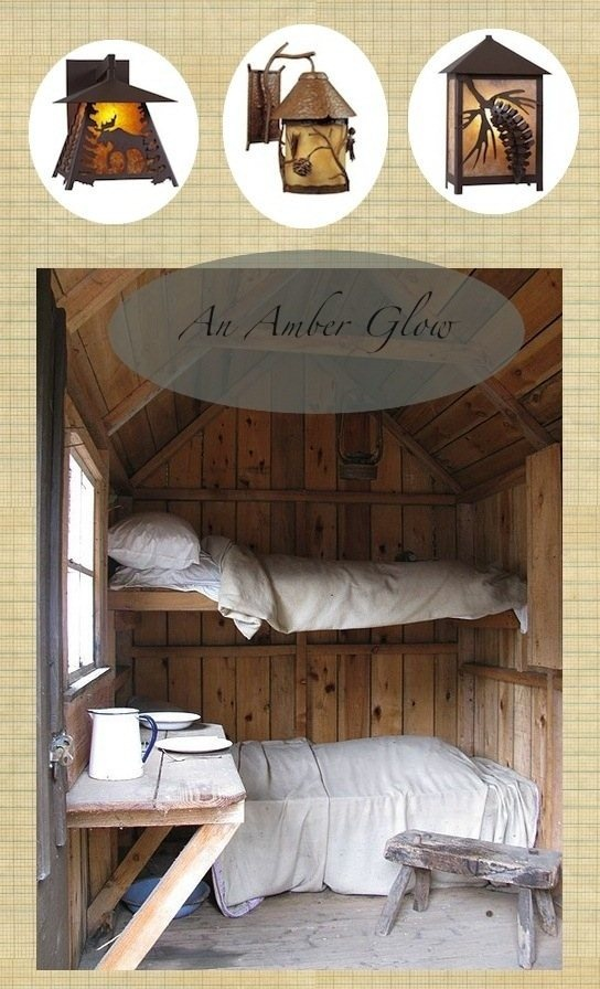 Cute bunk beds would be so cool in my cabin <3