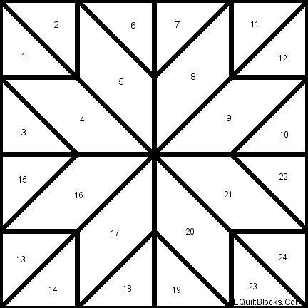 Easy Quilt Blocks | Sarah's choice quilt block from Annie'sChoice quilt patterns.
