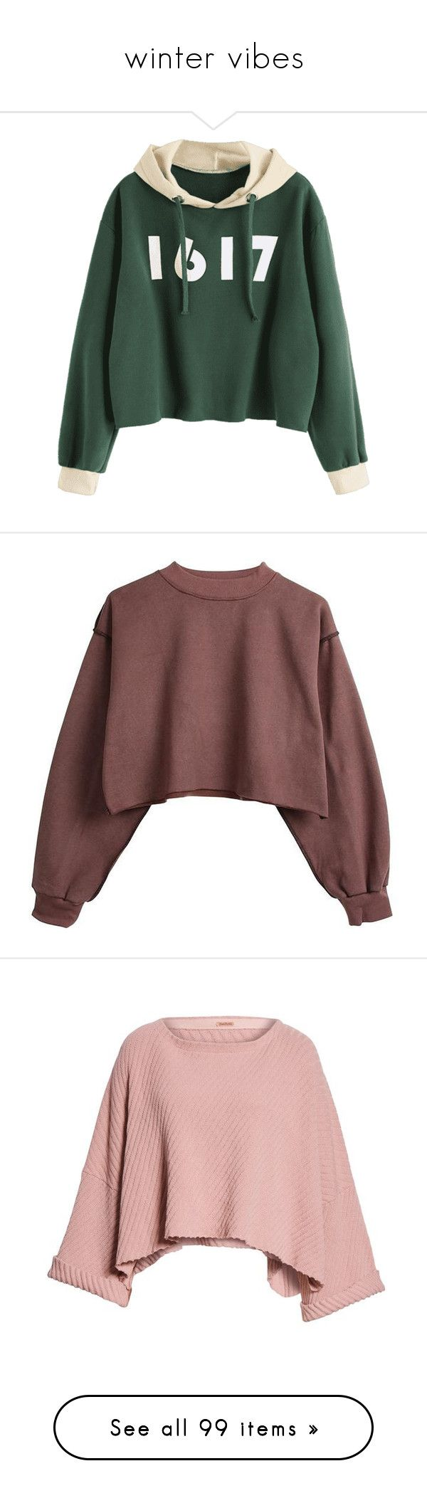 """winter vibes"" by beingmyselfaf ❤ liked on Polyvore featuring Winter, tops, hoodies, sweaters, zaful, coats, green hoodies, colourblock hoodie, hooded sweatshirt and color block hoodies"