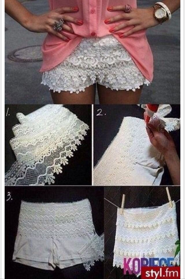 All Different DIY Clothing