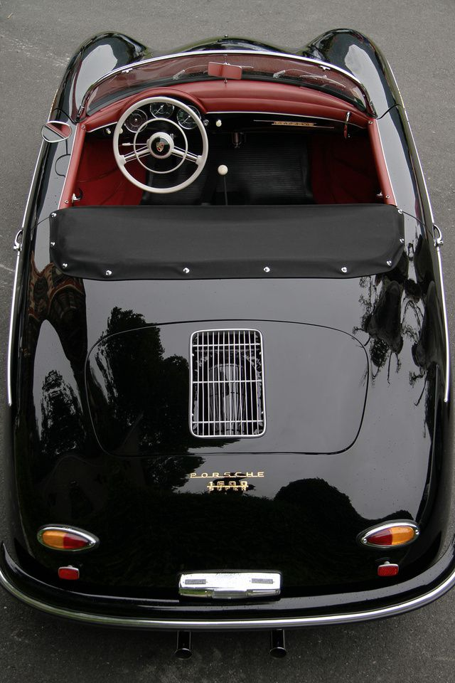 <3 Porsche 356 A (1957), 4 cyl., 1582 cc. Coachwork: Speedster, Reutter <3***my absolute dream car ***<3