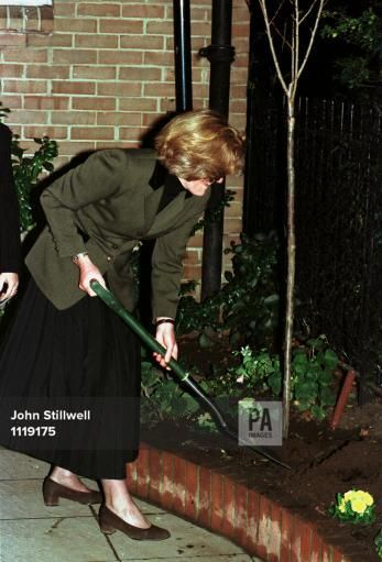 nov 25,1997--LADY JANE FELLOWES ATTENDED THE ANNUAL FAIR AT YOUNG ENGLAND KINDERGARTEN