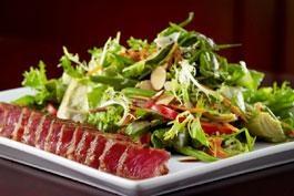 Our Blackened Ahi Tuna Salad.