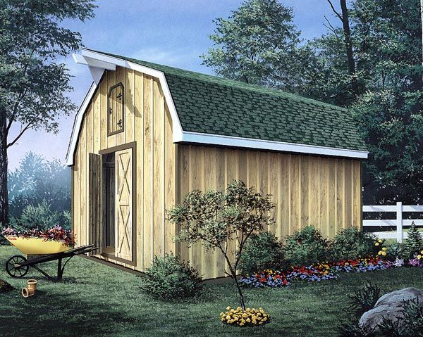 32 best images about shed on pinterest barn homes pole for Barn shed with loft plans