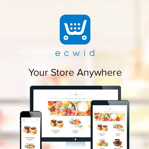 Ecwid: shopping cart when and where you need