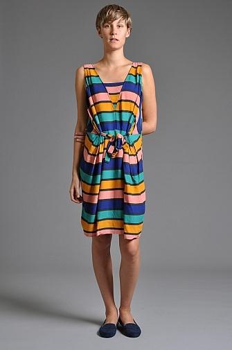 Numph Jolene Dress Stripe | someplace