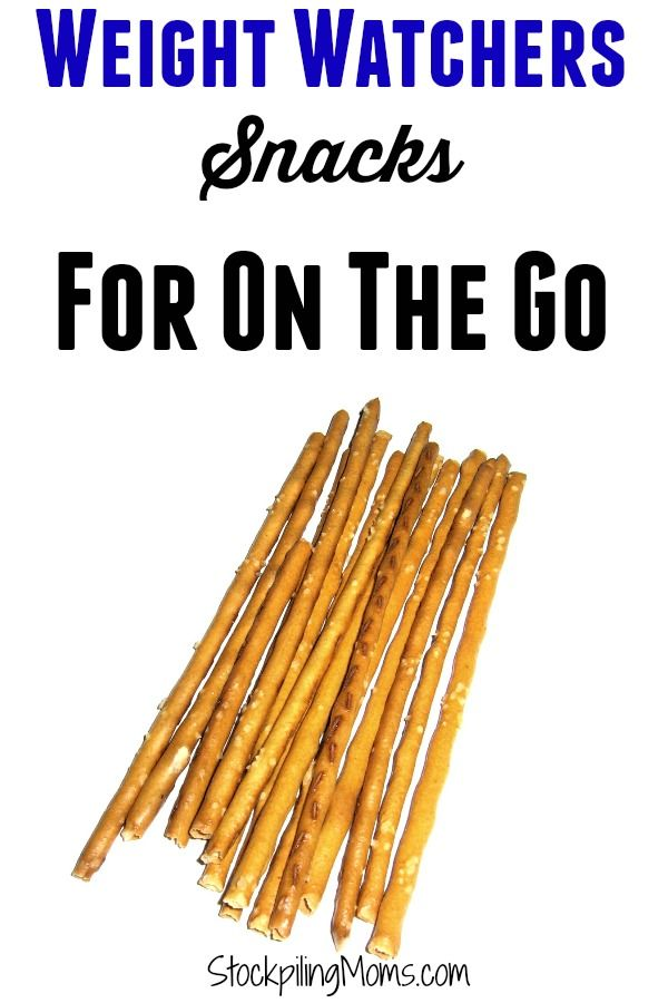 Weight Watchers Snacks For On The Go - Snack ideas for busy days to help you stay on your WW diet.