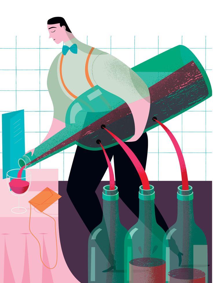 tripling restaurant wine prices