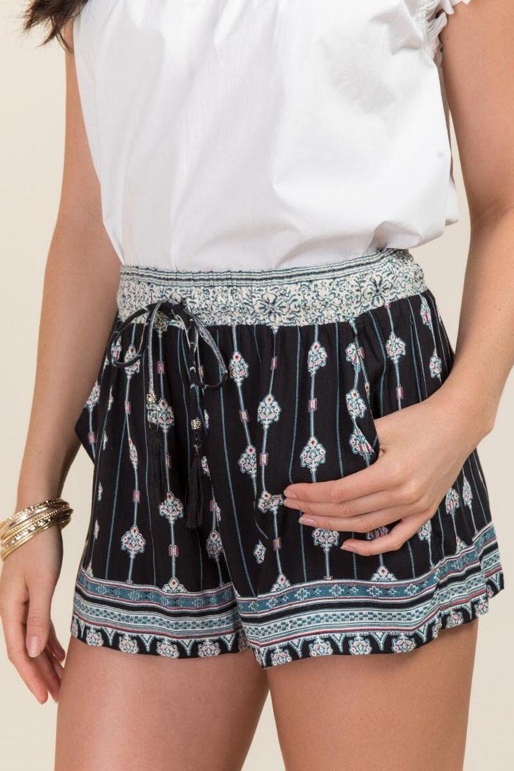 Sharon Morocco Printed Soft Shorts