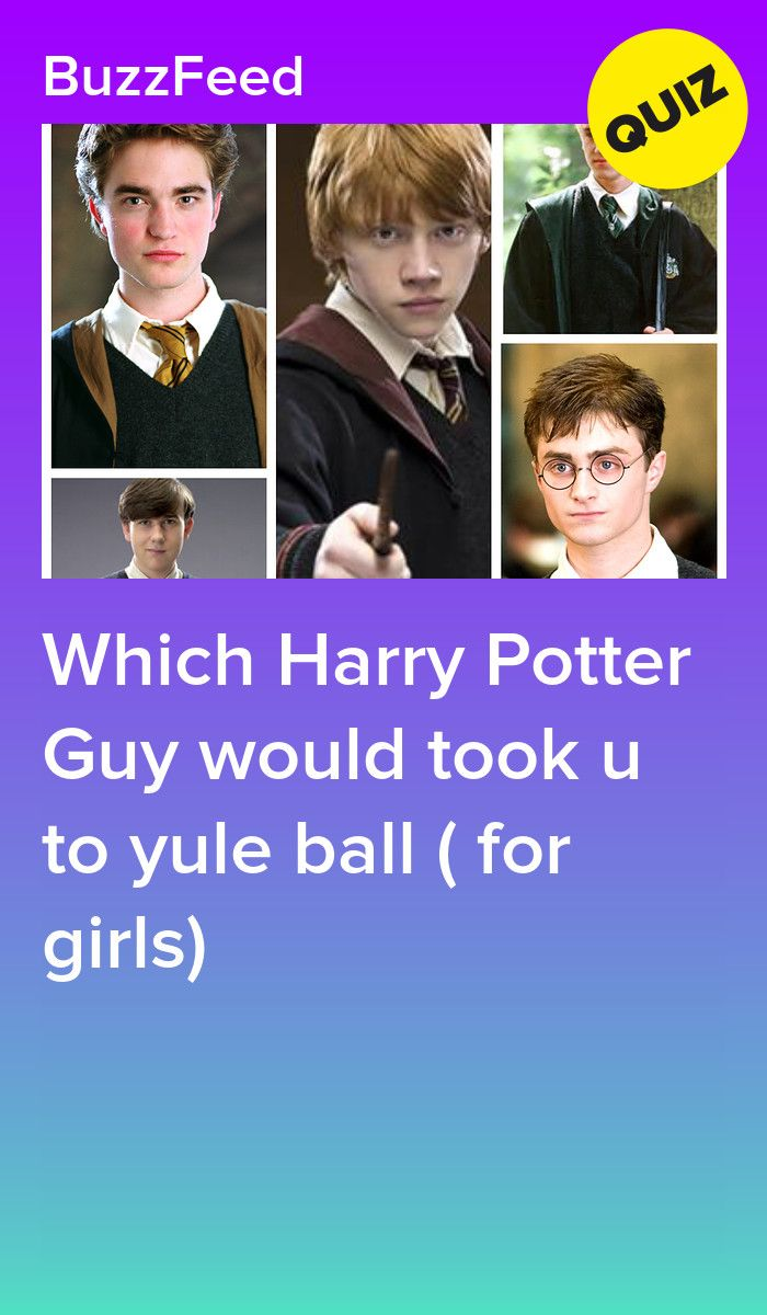 Which Harry Potter Guy Would Took U To Yule Ball For Girls In 2021 Harry Potter Buzzfeed Harry Potter Quiz Harry Potter Yule Ball