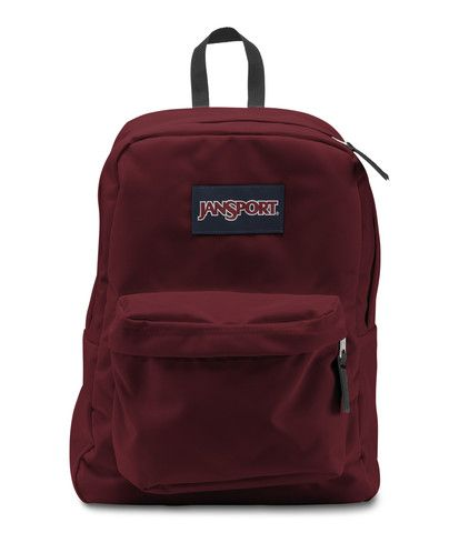 Jansport Superbreak Backpack - Viking Red Available at www.canadaluggagedepot.ca