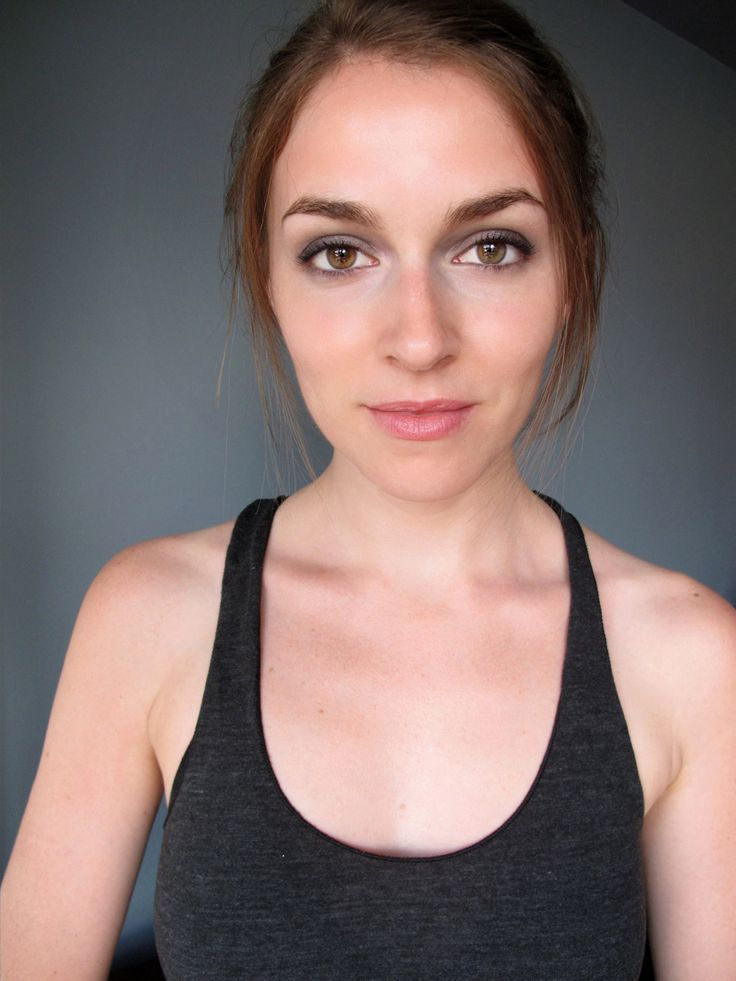 grey eyeshadow