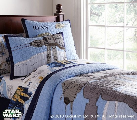 Pottery Barn Kids Has A Whole Line Of Star Wars Bedding