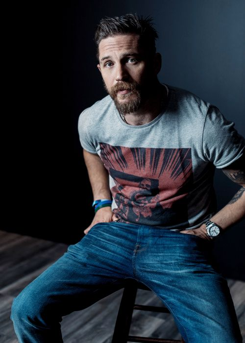 Tom Hardy of 'Legend' poses for a portrait at the 2015 Toronto Film Festival at the TIFF Bell Lightbox on September 13, 2015 in Toronto, Ontario.