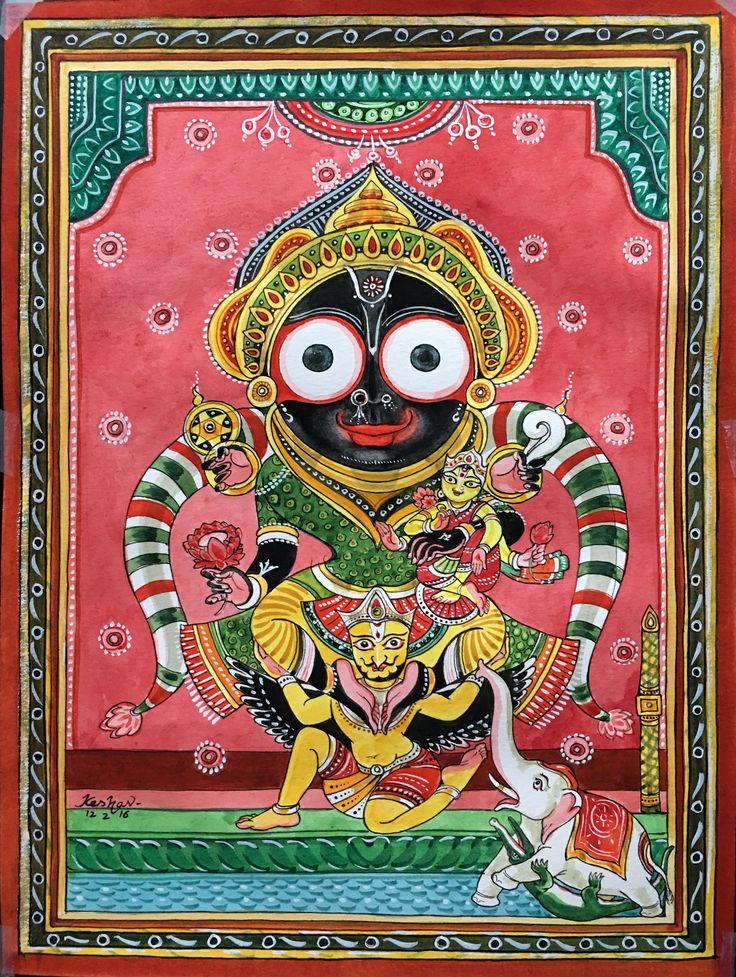 Jagannath, Puri. Gaja-uddharana vesha. #krishnafortoday