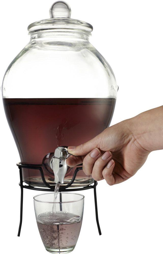 Relatiegeschenken Glazen drankdispenser bedrukken #glas #accessoires #karaf #bedrukken #relatiegeschenken
