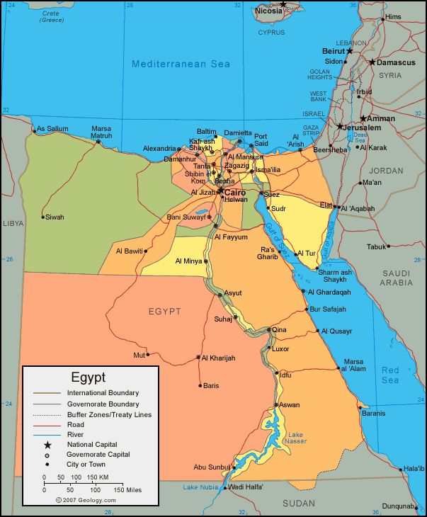 Best Map Images On Pinterest Maps Country And Egypt - Map of egypt with cities and towns
