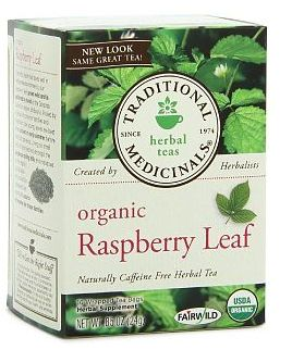 10 natural ways to  Induce labor : Red Rasberry Leaf Tea