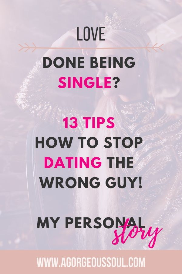How to stop dating a guy