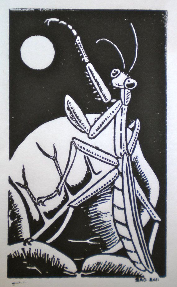 Lino Print Lord Of The Rings