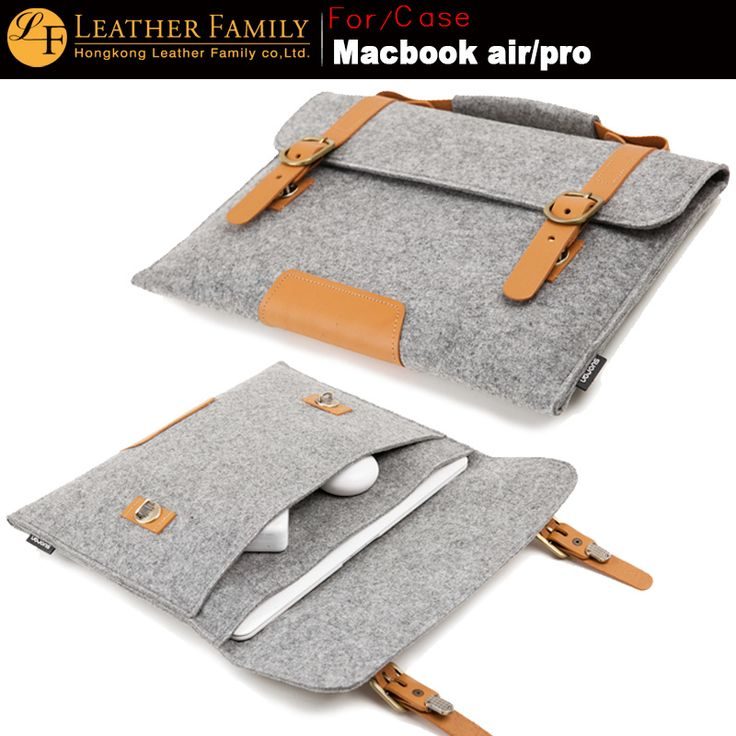 Funda para pc  http://es.aliexpress.com/item/Original-LF-Wool-Felt-Portable-KUMON-Laptop-Briefcase-For-Macbook-Pro-Air-Retina-11-13-15/32279093447.html