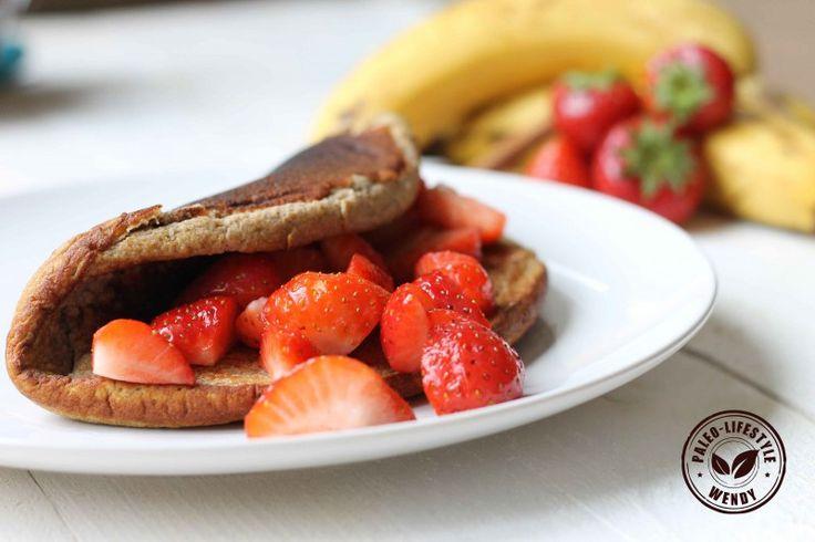 Pannenkoek met vers fruit