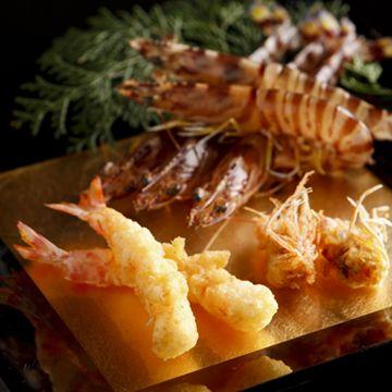 天ぷら(海老) tempura(shrimp)