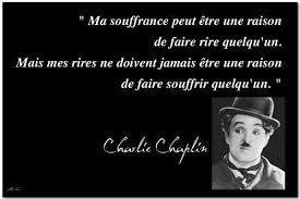 Charlie Chaplin, le rire et la souffrance