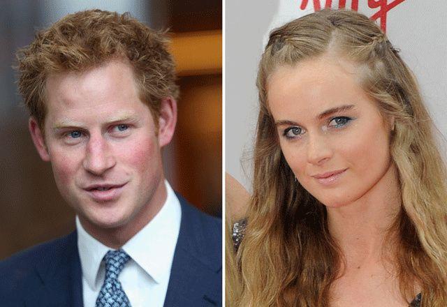Ce serait fini entre le prince Harry et Cressida Bonas