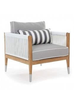 Oslo Lounge Chair   White Cyroplene