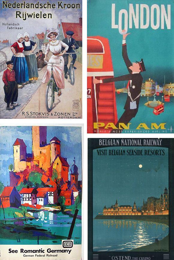 Catálogo de fabricantes de Vintage Posters de alta