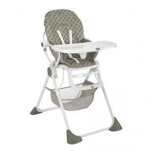 Solide, facile à transporter... et jolie! La chaise haute bébé Pocket Lunch Chicco a tout bon!