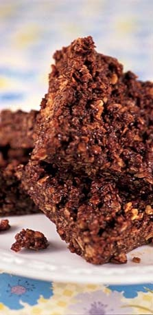 Green & Black's Chocolate Flapjacks Recipe