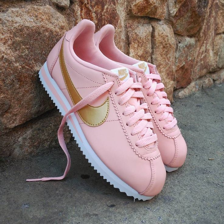 "Nike Classic Cortez Leather Wmns ""Pink Gold"""