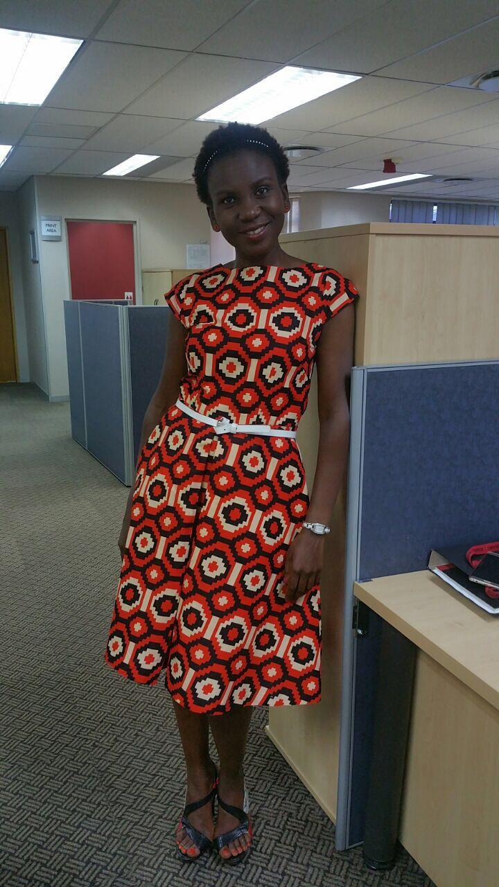 Office wear African print
