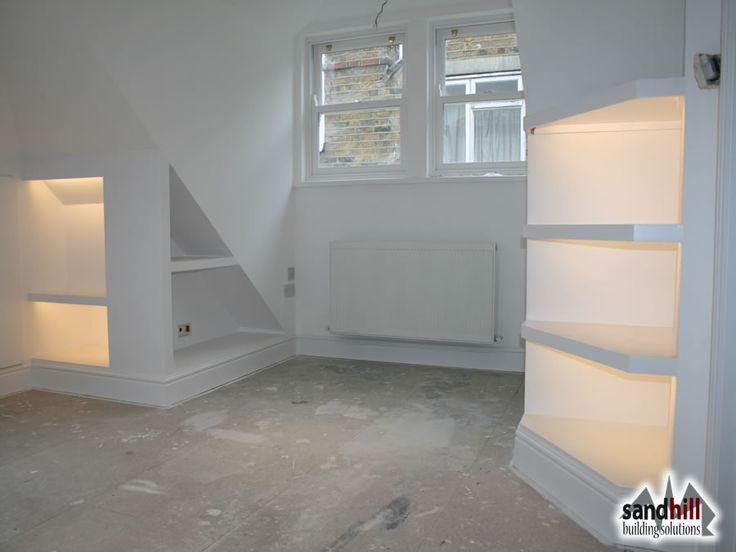 die besten 25 tv wand f r dachschr ge ideen auf pinterest dachgesims im schlafzimmer. Black Bedroom Furniture Sets. Home Design Ideas