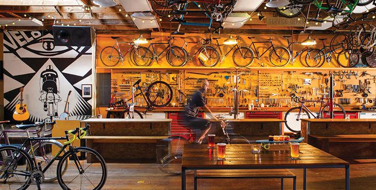 <p>This Portland hangout is way more than a bike shop</p>