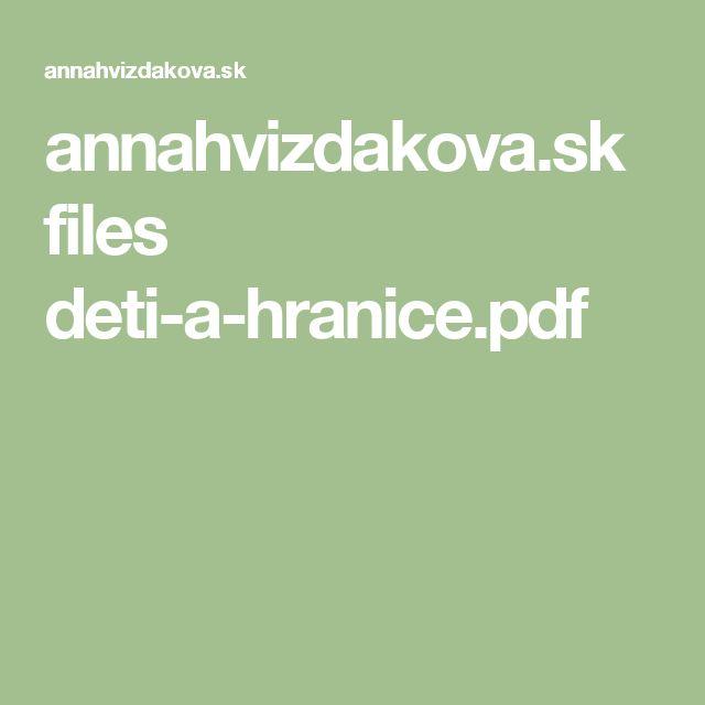 annahvizdakova.sk files deti-a-hranice.pdf
