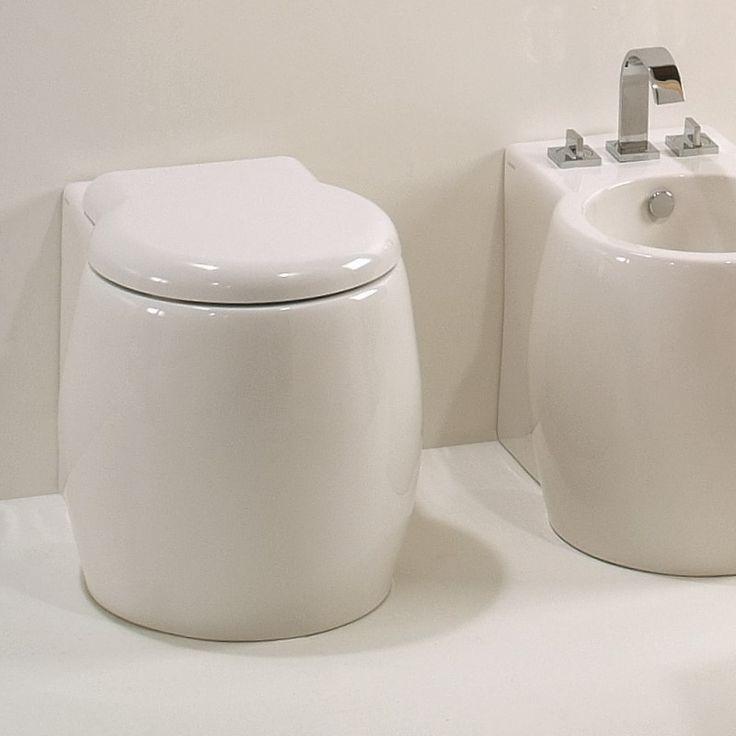 1000+ ide tentang Tiefspüler di Pinterest Wand Wc, Keramag - badezimmer fliesen ideen schwarz weiß