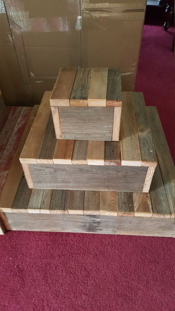 Pick Me Sale 3 Tier Rustic Cake Stand Cupcake Stand