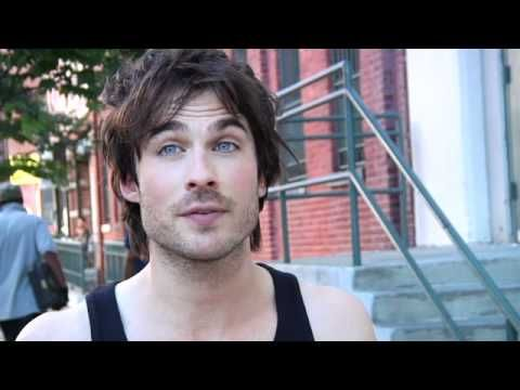 Ian Somerhalder ...VID...What Guys Wish You Knew. His laugh can melt the arctic