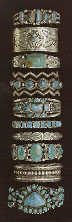 ➳➳➳☮American Hippie Bohemian Boho Bohéme Feathers Gypsy Spirit Style- Jewelry .. Turquoise Bracelets